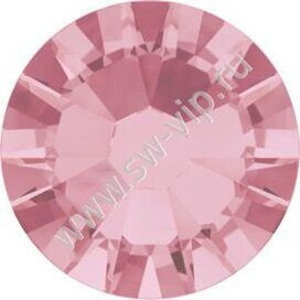 Swarovski 2058 XILION - Light Rose (F), ss 10, 100pcs