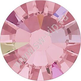 Swarovski 2058 XILION - Light Rose AB (F), ss 9, 100pcs