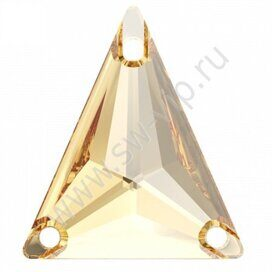 Swarovski Triangle 3271 - Crystal Golden Shadow, 18x21,1 мм, 1 шт.