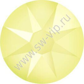 Swarovski 2078 XIRIUS - Crystal Powder Yellow (HF), ss 16, 100pcs