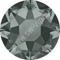 Swarovski 2078 XIRIUS - Black Diamond (HF), ss 16, 100pcs