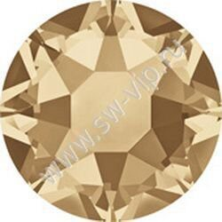 Swarovski 2078 XIRIUS - Crystal Golden Shadow (HF), ss 16, 100pcs