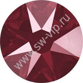 Swarovski 2078 XIRIUS - Crystal Dark Red (HF), ss 16, 100pcs