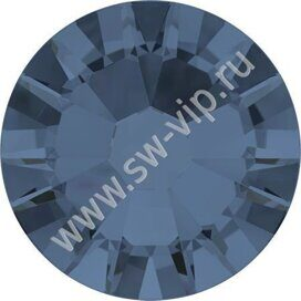 Swarovski 2058 XILION - Denim Blue (F), ss 9, 100pcs