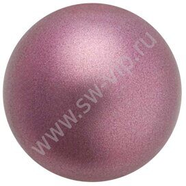 Полужемчуг (кабашоны) Preciosa (F) - Pearl Effect Light Burgundy , 3mm, 288pcs
