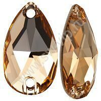 Swarovski Drop 3230 - Light Colorado Topaz, 12x7 мм, 1 шт.