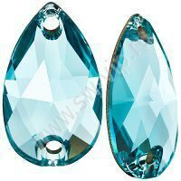 Swarovski Drop 3230 - Light Turquoise, 12x7 мм, 1 шт.