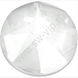 Swarovski 2078 XIRIUS - Crystal Electric White (HF), ss 16, 100pcs