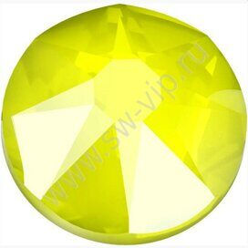 Swarovski 2078 XIRIUS - Crystal Electric Yellow (HF), ss 16, 100pcs