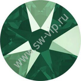 Swarovski 2078 XIRIUS - Crystal Royal Green (HF), ss 16, 100pcs
