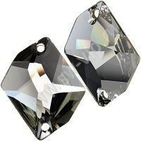 Swarovski Cosmic 3265 - Black Diamond, 20x16 мм, 72 шт.