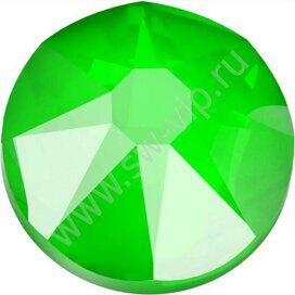 Swarovski 2088 XIRIUS - Crystal Electric Green (F), ss 12, 100pcs