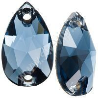 Swarovski Drop 3230 - Denim Blue, 12x7 мм, 1 шт.