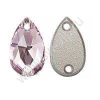 Swarovski Drop 3230 - Light Amethyst, 18x10,5 мм, 1 шт.