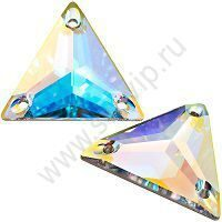 Swarovski Triangle 3270 - Crystal AB, 16 мм, 1 шт.