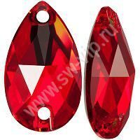 Swarovski Drop 3230 - Light Siam, 12x7 мм, 1 шт.