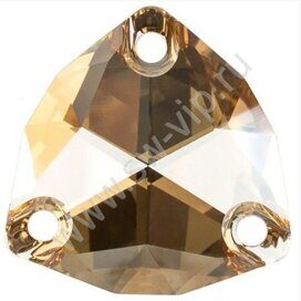 Swarovski Trilliant 3272 - Crystal Golden Shadow, 16 мм, 1 шт.