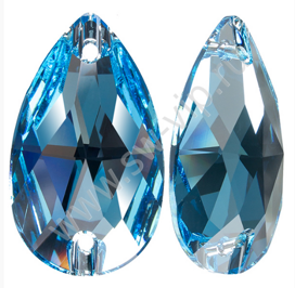 Swarovski Drop 3230 - Aquamarine, 12x7 мм, 1 шт.