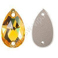 Swarovski Drop 3230 - Light Topaz, 12x7 мм, 1 шт.