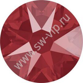 Swarovski 2078 XIRIUS - Crystal Royal Red (HF), ss 16, 100pcs