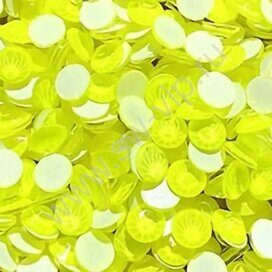 Favorite A277 - Electric Yellow (F), ss 10, 100pcs