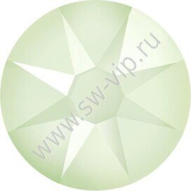 Swarovski 2078 XIRIUS - Crystal Powder Green (HF), ss 16, 100pcs