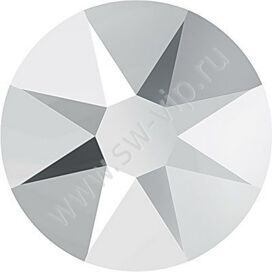 Swarovski 2088 XIRIUS - Crystal Light Chrome (F), ss 16, 100pcs