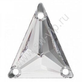 Swarovski Triangle 3271 - Crystal, 18x21,1 мм, 1 шт.