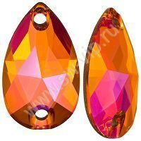 Swarovski Drop 3230 - Crystal Astral Pink, 12x7 мм, 1 шт.